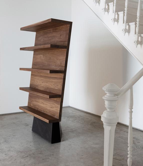 Dolmen-bookshelf