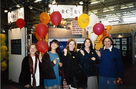 Attendees at ESRC at the BA event 1994