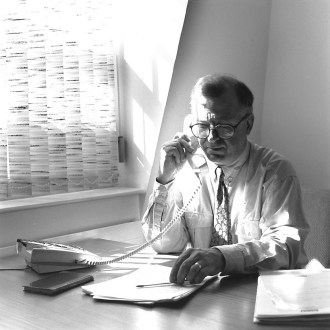 Bill Solesbury, Secretary to ESRC 1990-1995