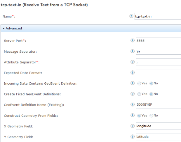 6 tcp text in