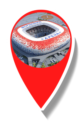 Mordovia Stadium location marker icon