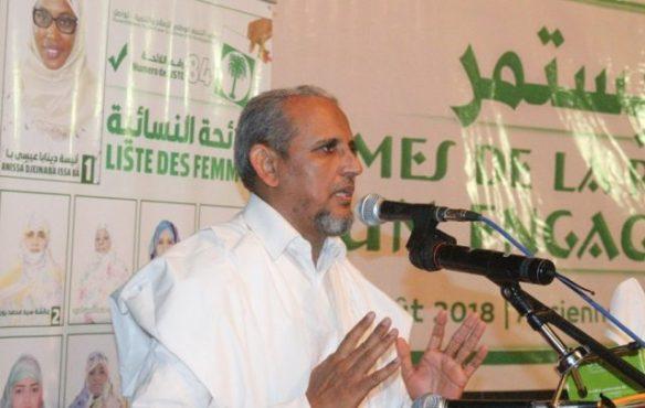 رئيس حزب تواصل محمد محمود ولد سيدي