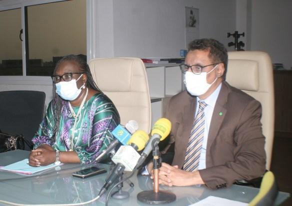 وزيرا الطاقة في موريتانيا والسنغال- المصدر (وزارة الطتقة الموريتانية)