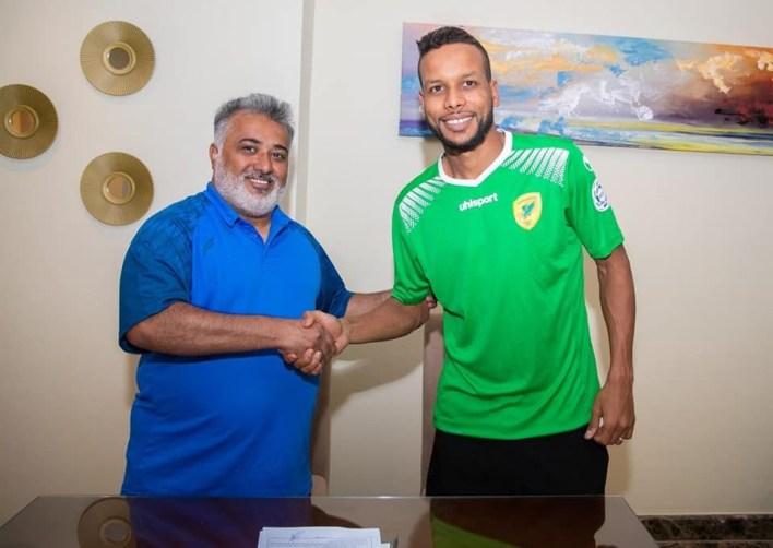 بسام بعد توقيعه لنادي الخليج السعودي