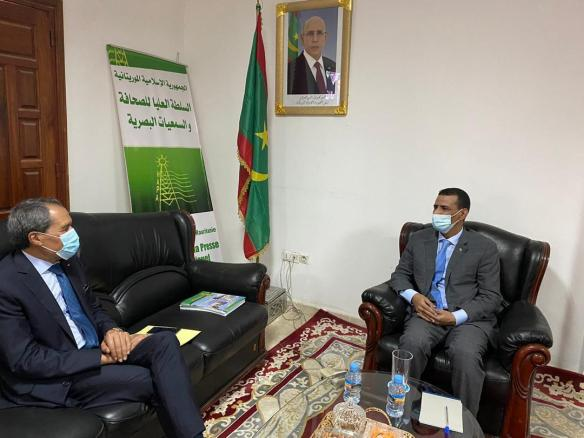 رئيس الهابا يستقبل السفير المغربي ـ (المصدر: موقع الهابا)