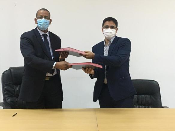 توقيع الاتفاقية- المصدر (الصحراء)