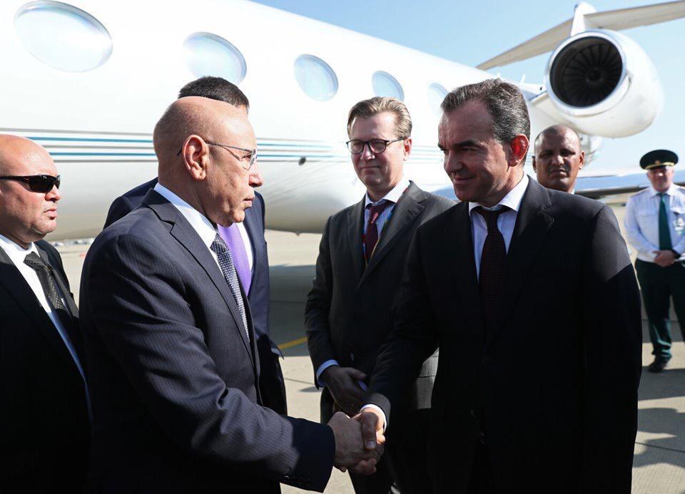 مسؤول حكومي روسي كان في استقبال الرئيس غزواني