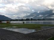 Des terrains engorgés d'eau