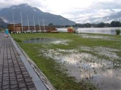 Des lacs qui refluent
