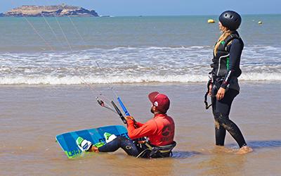 Kitesurf apprendre waterstart