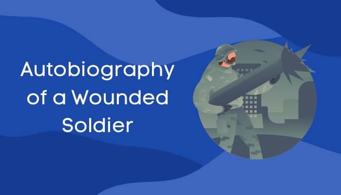 एक घायल सैनिक की आत्मकथा पर हिंदी में निबंध Autobiography of a Wounded Soldier Essay in Hindi