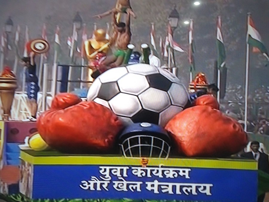 Ministry of Youth Affairs and Sports Tableau
