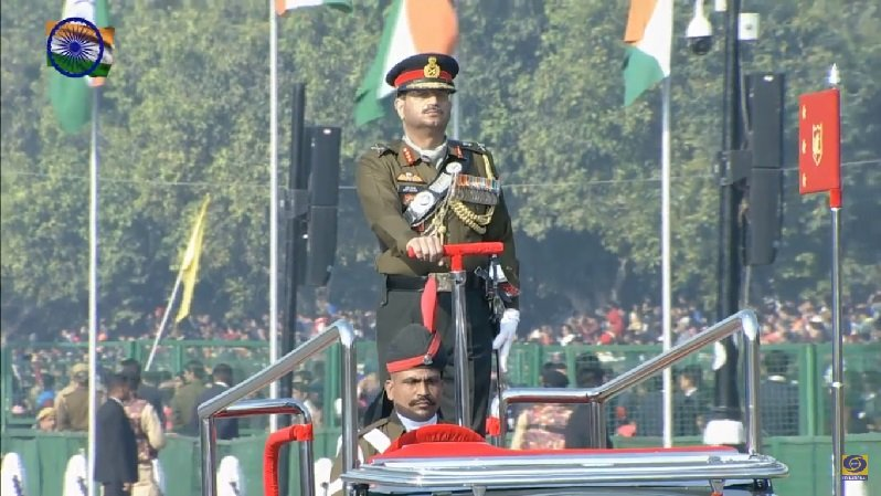 Parade at Rajpath