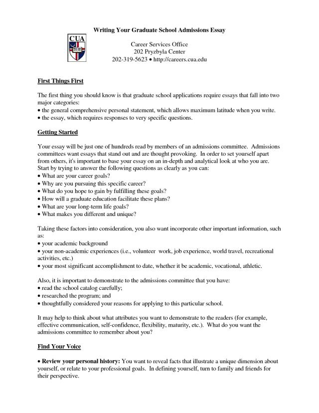 graduate application essay | Applydocoument co