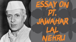 Read more about the article ESSAY ON JAWAHARLAL NEHRU IN ENGLISH 200,500,AND 1000 + WORDS