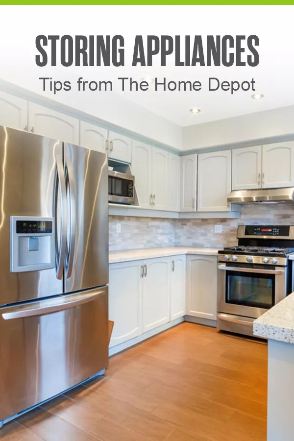 Getting ready to move? Need to store large household appliances? Check out these tips from The Home Depot to simplify the storage process! via @extraspace