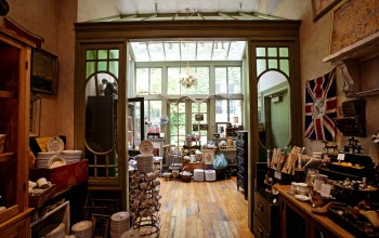 Interior of P.O.S.H. in Chicago, IL