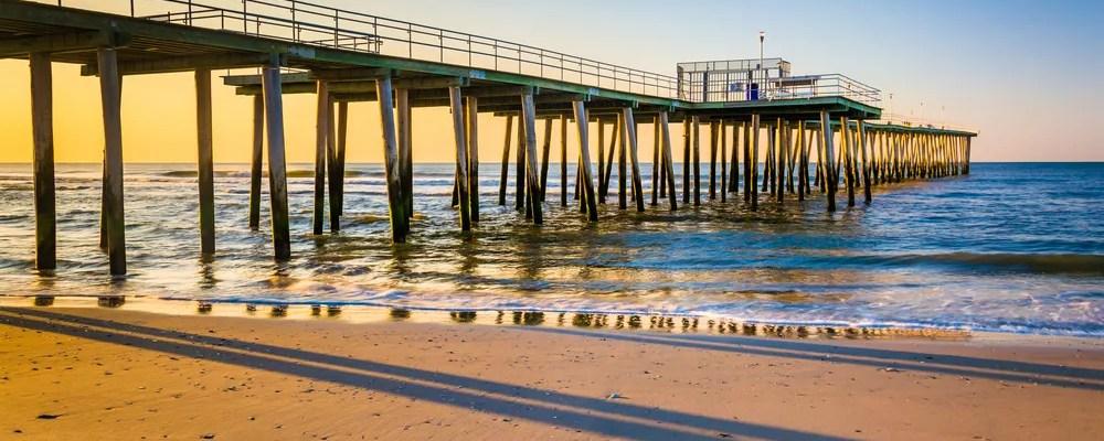 Boardwalk in Jersey Shore