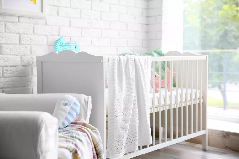 17 Baby Room Ideas for Small Spaces via @extraspace
