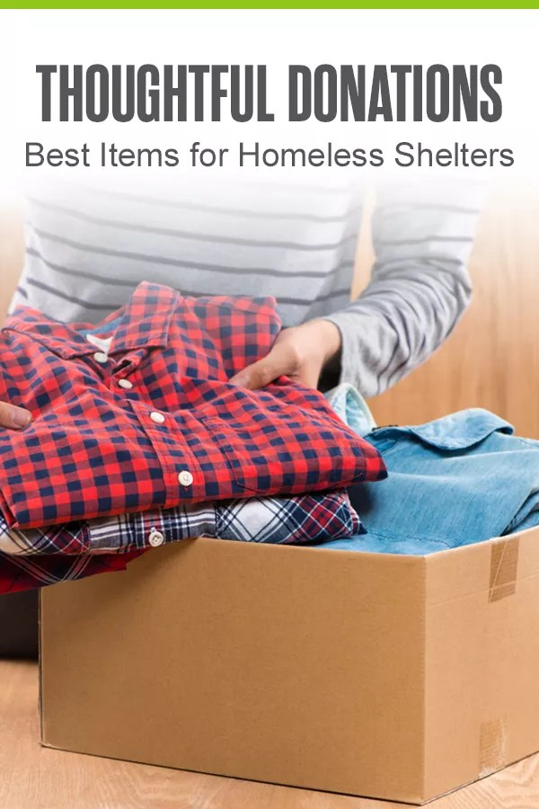 Looking to give back to your community? Consider donating items or time to homeless shelters in your area to provide the less fortunate with the things they need most. via @extraspace