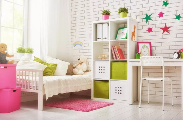 Small Kids Room Ideas: How to Organize & Get More Space ...