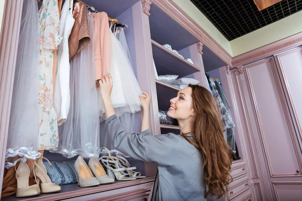 21 Ideas for Designing & Organizing Your Dream Closet via @extraspace