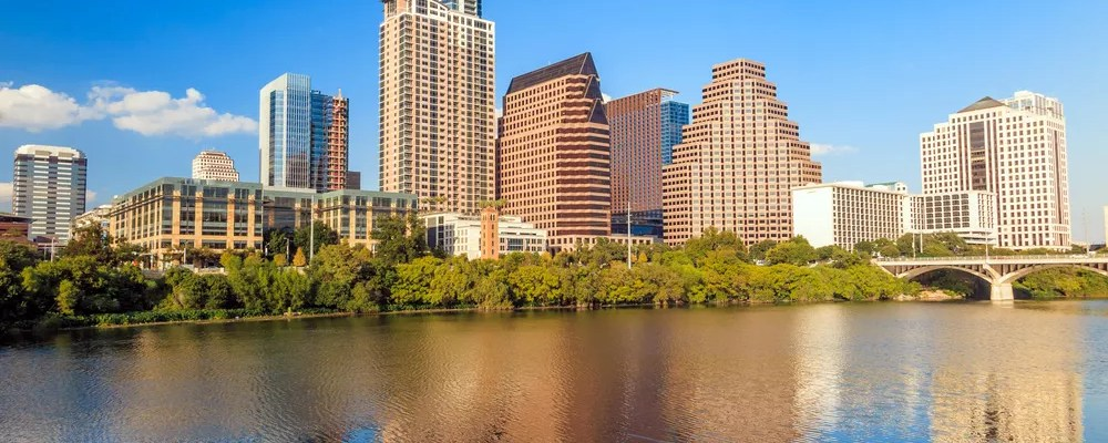 Austin, TX skyline during the day