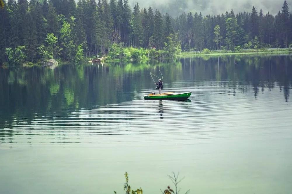 Best Fishing Lakes in the U.S. via @extraspace