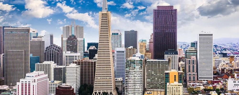 San Francisco, CA downtown area skyline