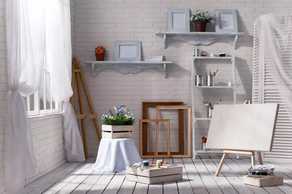 20 Creative Home Art Studio Ideas for a Spare Room