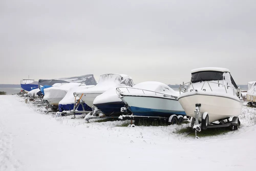 Vehicle Winterization Tips: How to Winterize a Boat via @extraspace