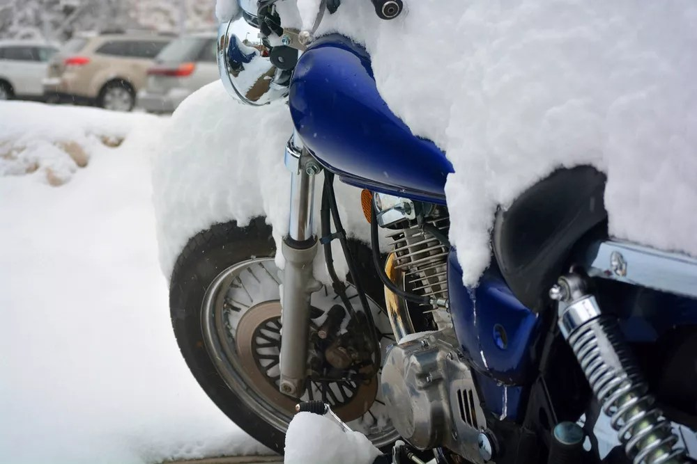 Vehicle Winterization Tips: How to Winterize a Motorcycle via @extraspace