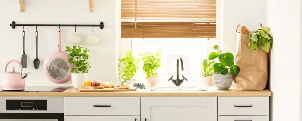 Bright, energy-efficient kitchen