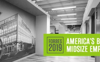 Forbes names Extra Space Storage one of its 2019 America's Best Midsize Employers
