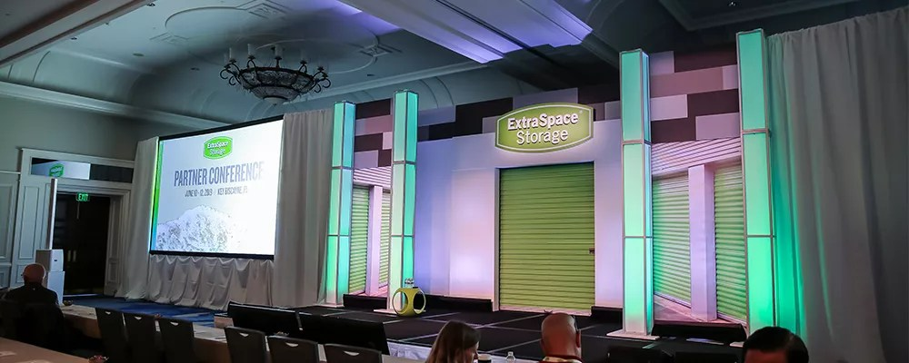 Stage at Extra Space Storage's 2019 Partner Conference