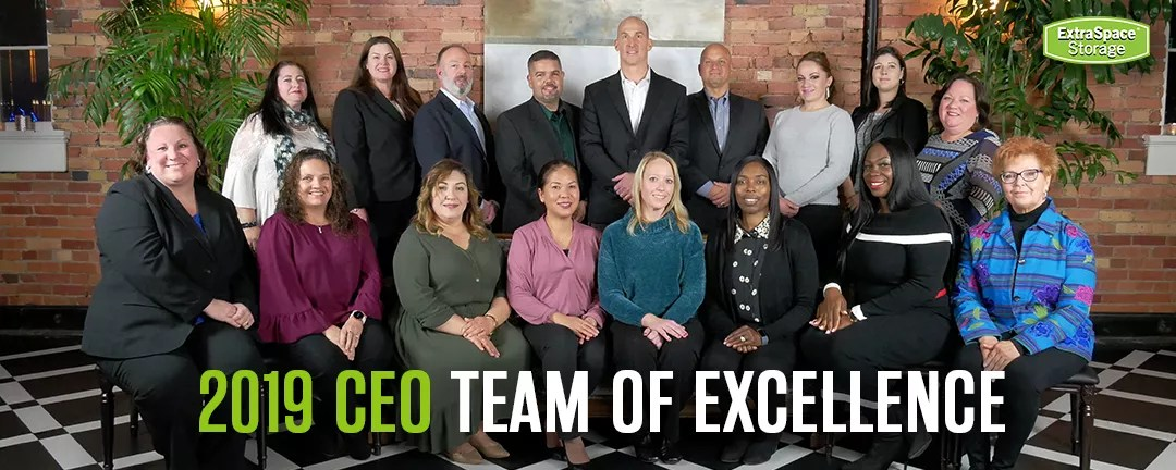 Extra Space Storage Announces 2019 CEO Team of Excellence Award Recipients via @extraspace