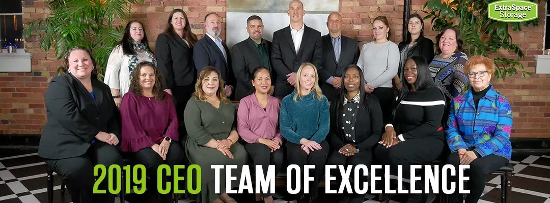 Extra Space Storage 2019 CEO Team of Excellence Winners