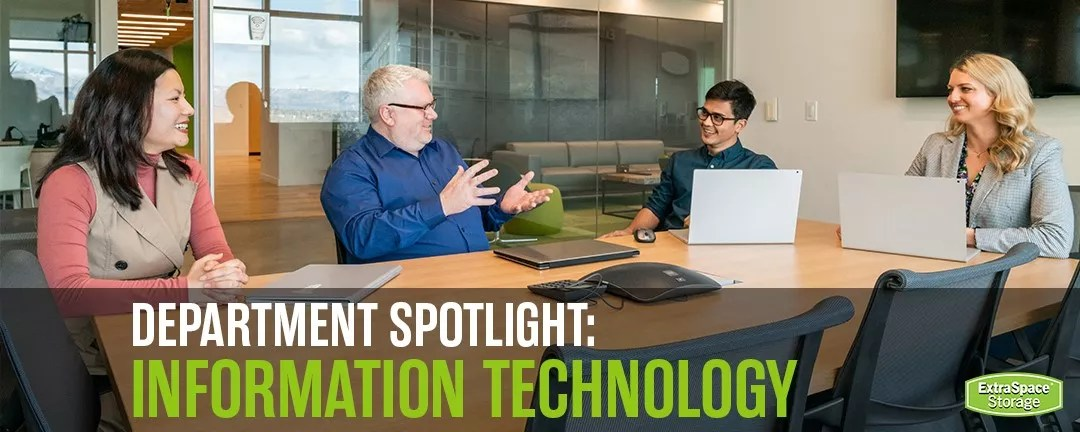 Extra Space Storage Department Spotlight: Information Technology via @extraspace