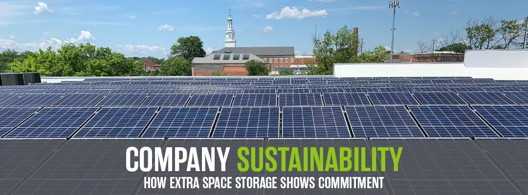 Featured Graphic: Company Sustainability: How Extra Space Storage Shows Commitment