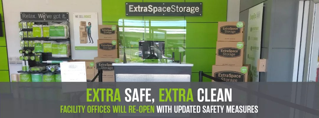 Extra Space Storage to Reopen Storage Facility Offices with Updated COVID-19 Safety Measures via @extraspace