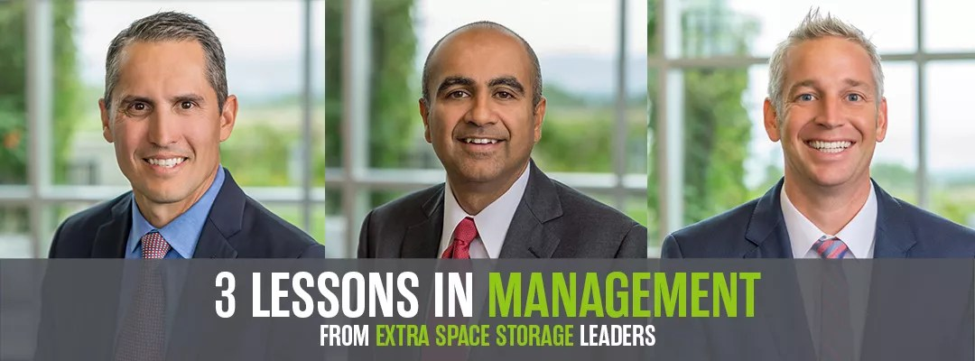 Featured Graphic: 3 Lessons in Management: From Extra Space Storage Leaders