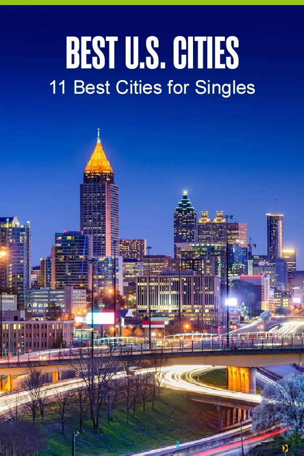 Thinking about moving to a big city? These 11 U.S. cities are perfect for singles and offer ample job opportunities, lively nightlife, outdoor recreation, and much more! via @extraspace