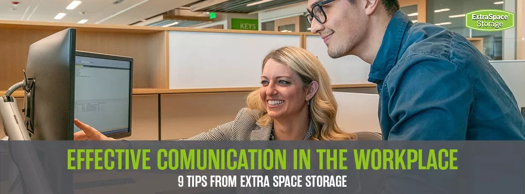 Featured Graphic: Effective Communication in the Workplace: 9 Tips from Extra Space Storage