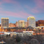Skyline photo of Colorado Springs.