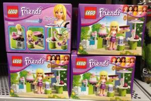 Lego Friends Packaging