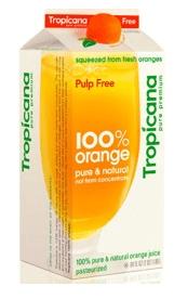 Tropicana rebranded packaging