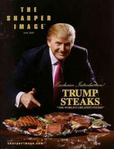 Donald Trump launched Trump Steaks
