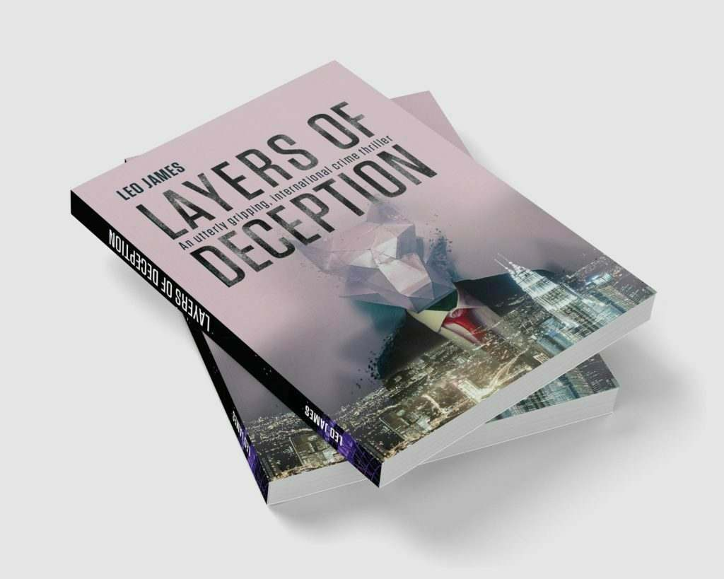 Layers of Deception Book Cover pile