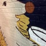 【手描き凹凸壁画☆ハリネズミ】@東京都渋谷区『HEDGEHOG OUR PUB』