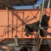【手描き壁画★犬シルエット〜ニューファンドランド】@埼玉県所沢市